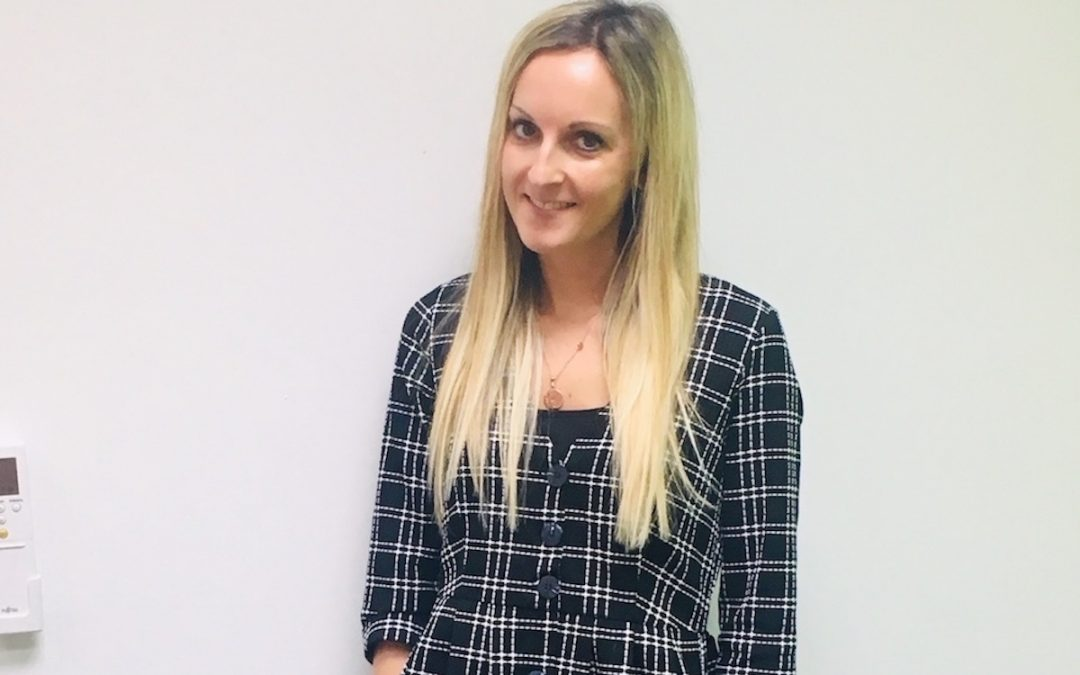 Amy is new chair of R3 young professionals group
